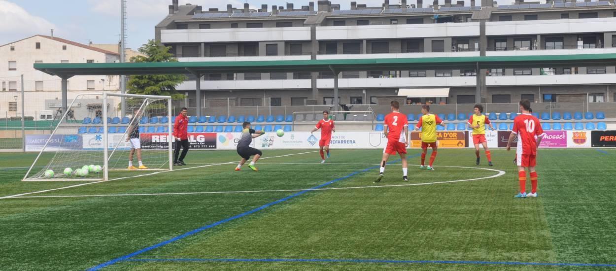 La Fase Final sub 18 masculina es juga a Saragossa
