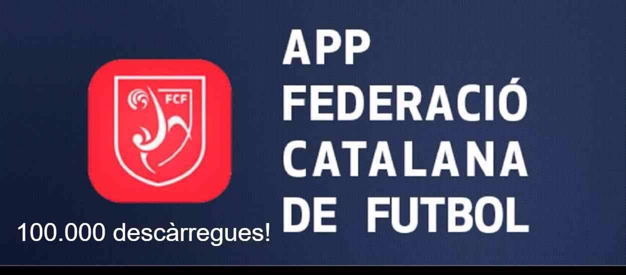 L'app de la FCF arriba a les 100.000 descàrregues