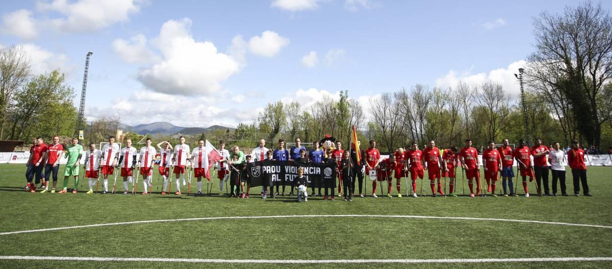 Espanya guanya el torneig del Catalunya Amputee Football Experience