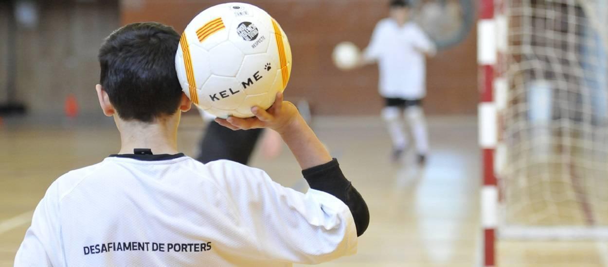 Inscripcions obertes per al Desafiament de Porters de Futbol Sala 2017