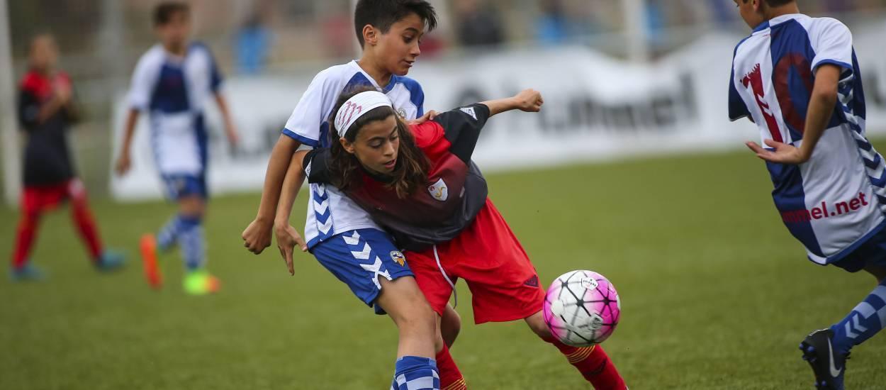 La Selecció Catalana sub 12 femenina disputa el último partido amistoso antes del Campeonato