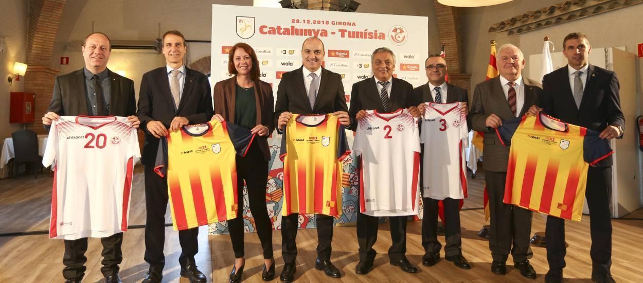 Dinar oficial entre les directives de les Federacions Catalana i Tunisiana
