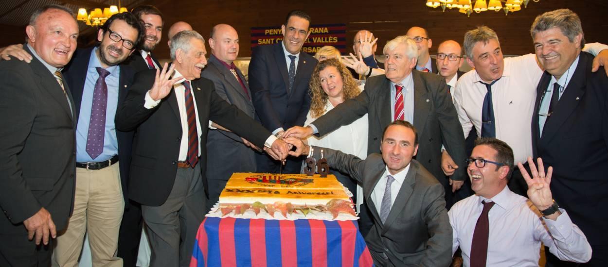 Celebració dels 36 anys de la PB Sant Cugat