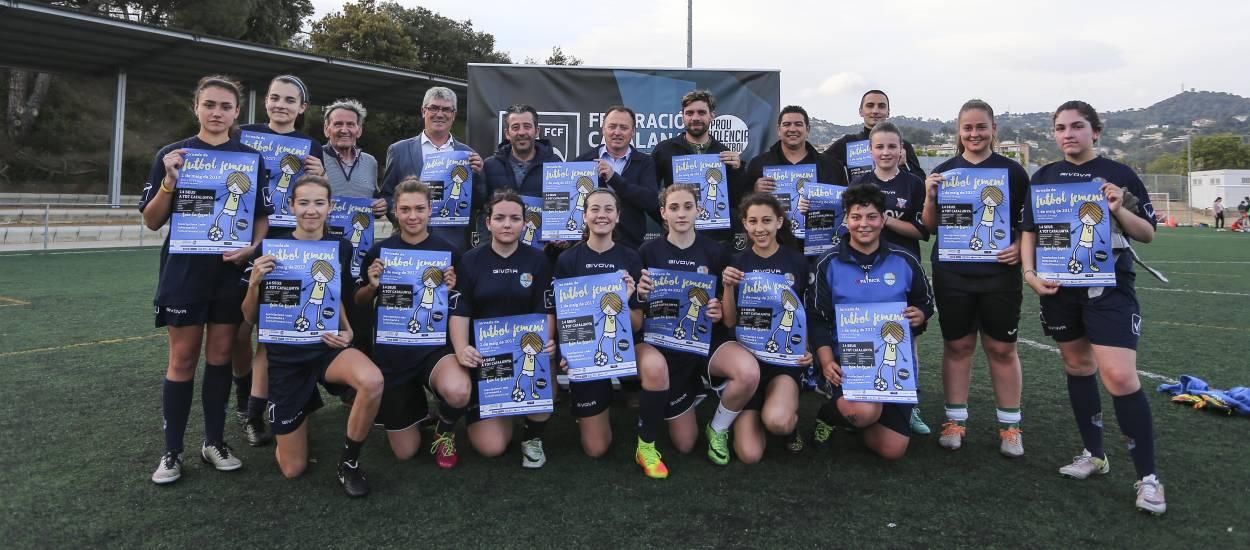 Presentacions de la 5a Jornada de Futbol Femení 2017
