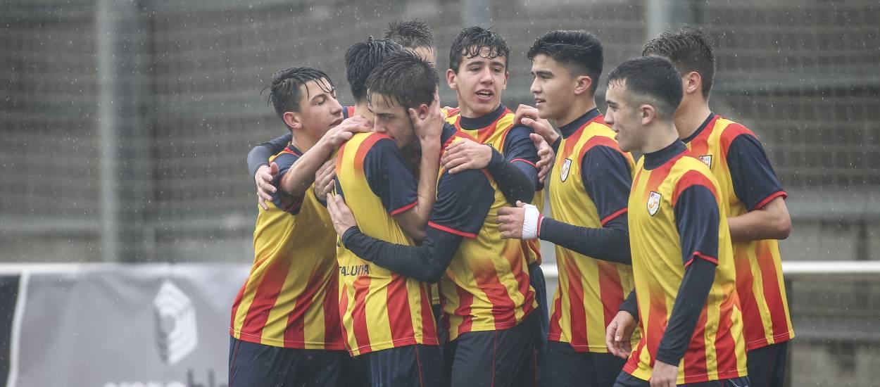Set catalans convocats amb la selecció sub 16 masculina espanyola