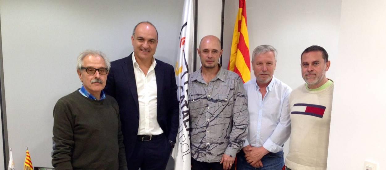 Reunió federativa amb el CF Mediona