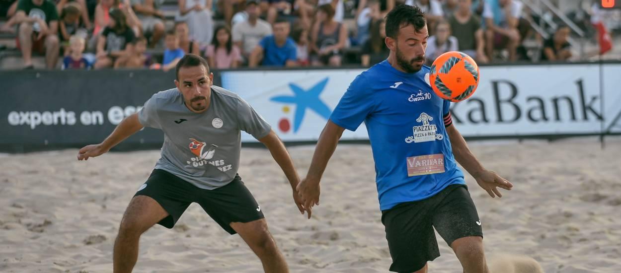 El Torredembarra i el Vilanova Esports CF, finalistes del Campionat de Catalunya de Futbol Platja