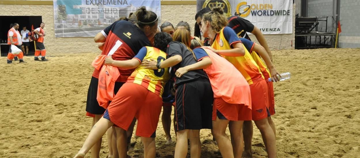 Les seleccions Sènior Femení i Cadet Masculí de futbol platja viatgen a Múrcia per disputar el Campionat estatal