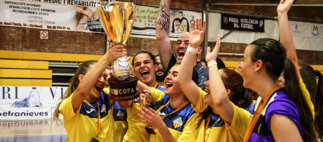 Els campions de la Copa Catalunya de Futbol Sala 2017