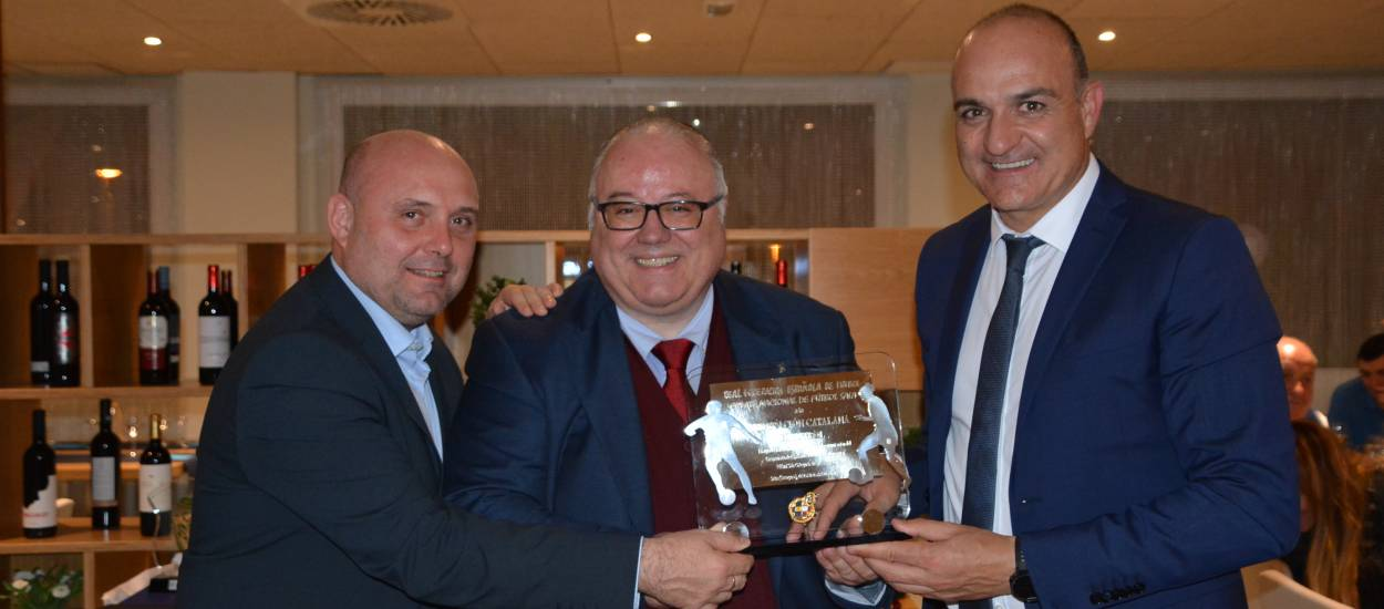 Sopar oficial del Campionat d'Espanya Benjamí de futbol sala
