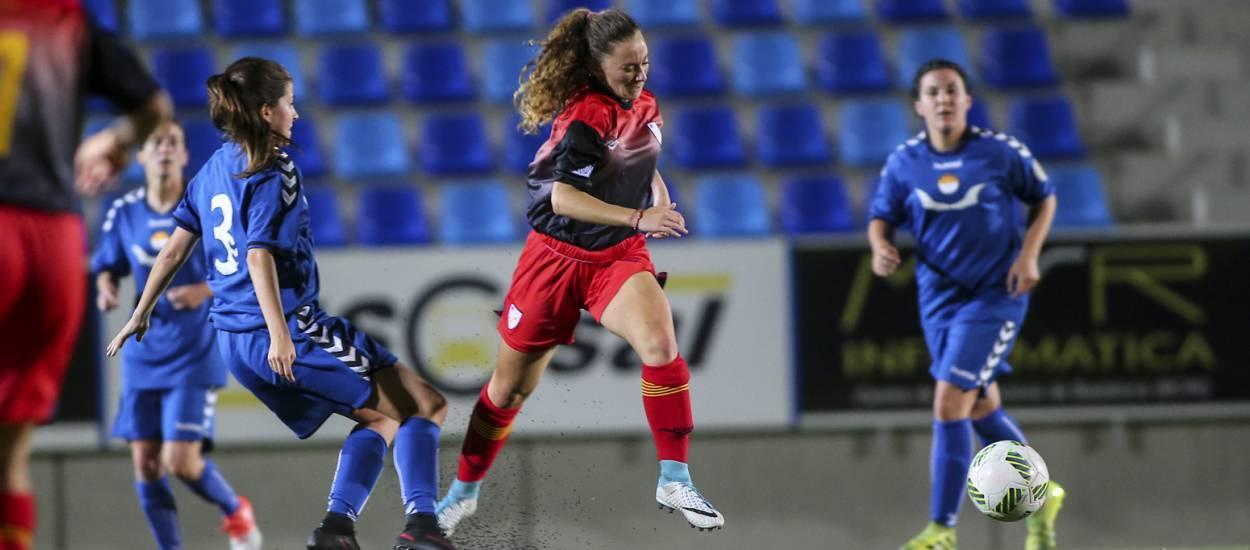Buenas sensaciones de la sub 16 femenina antes del inicio del Campeonato de España