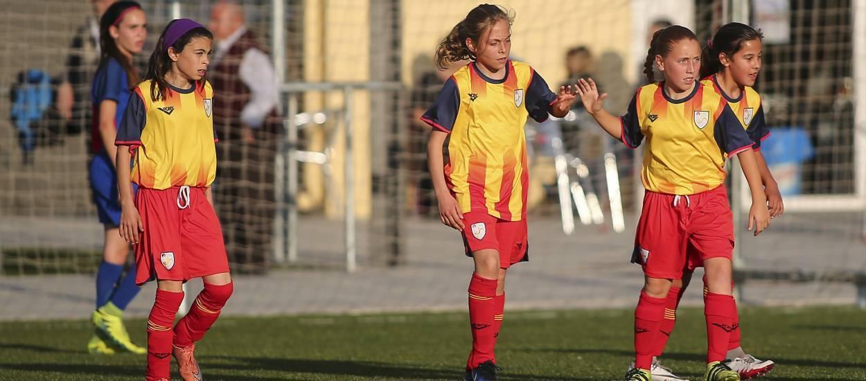 Sensaciones positivas de la sub 12 femenina en el amistoso ante el Barça