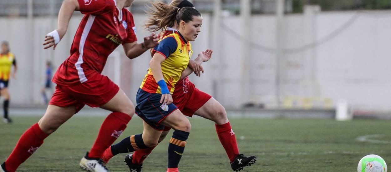 La sub 16 femenina suma una nova victòria per encarar amb garanties el Campionat d'Espanya