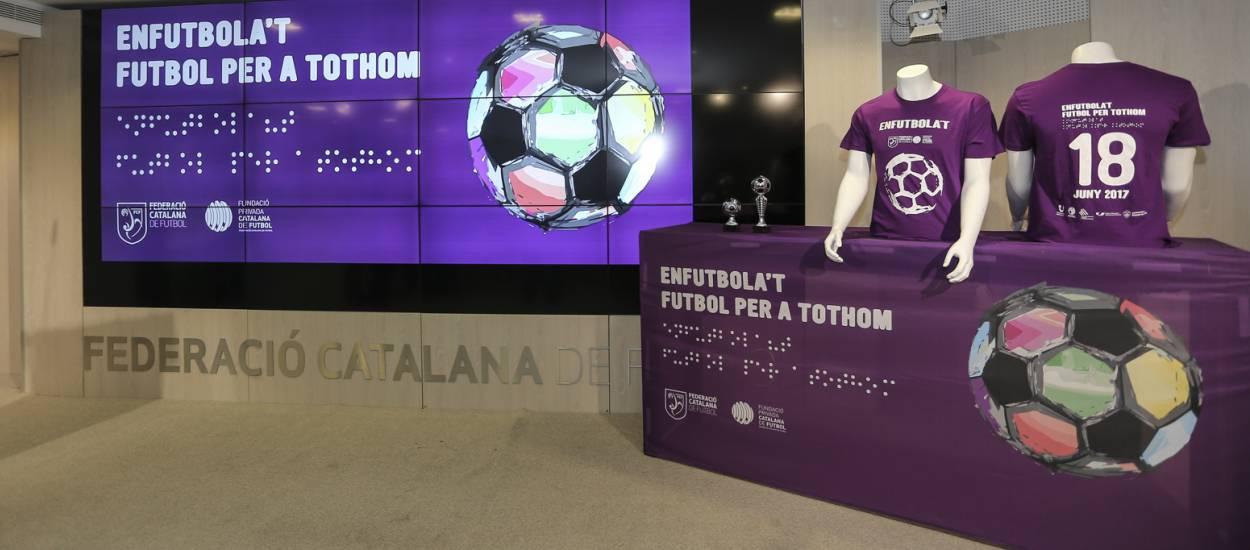 Tot a punt per la jornada 'Enfutbola't. Futbol per a tothom'