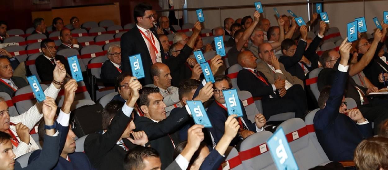 Celebrada l'Assemblea General en sessió extraordinària de la RFEF