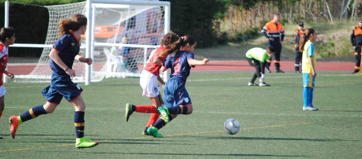 La Selecció sub 12 femenina cau davant Madrid en les semifinals