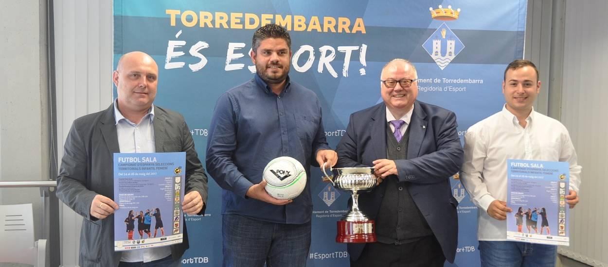 Presentat el Campionat d'Espanya Infantil femení de futbol sala