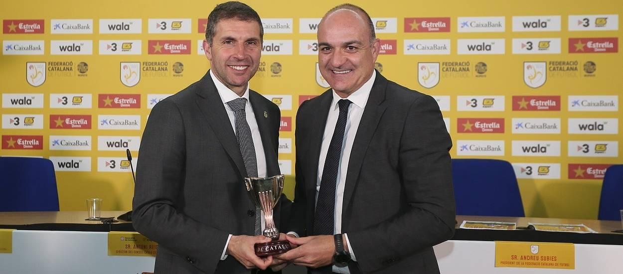 "Delfí Geli: ""Guanyar la Copa Catalunya seria una fita històrica"""