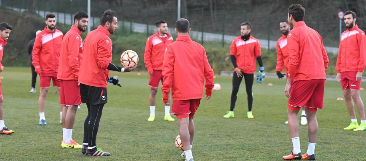 Tunísia es prepara per al partit contra la Selecció Catalana