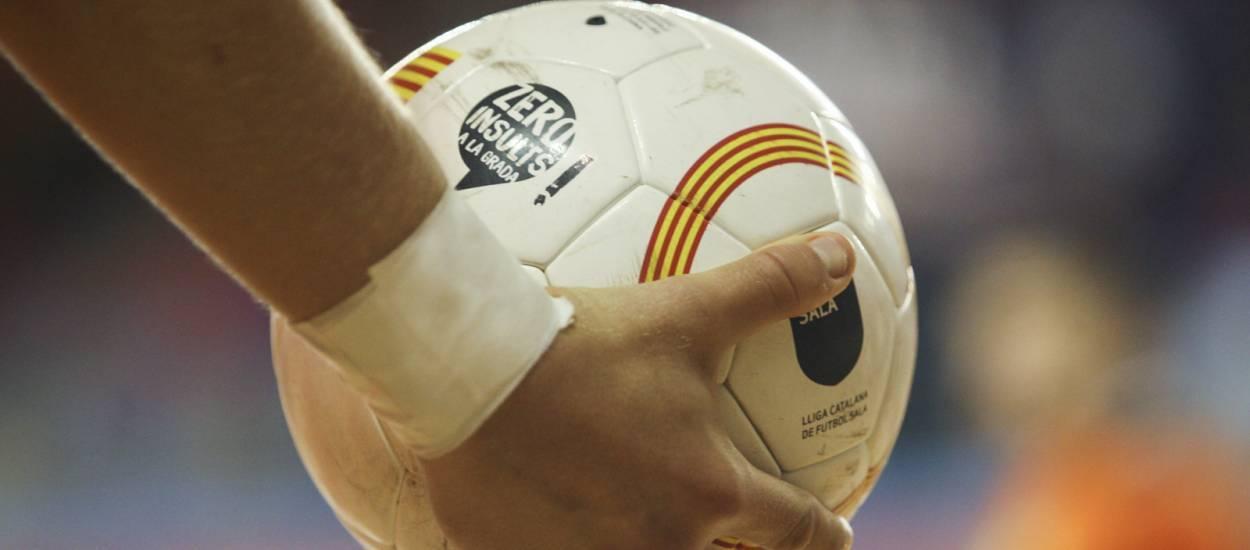 En directe, el Catalunya-Extremadura Infantil de futbol sala