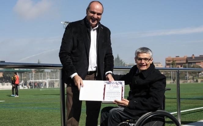 El president de la FCF al partit Cervera-Balaguer