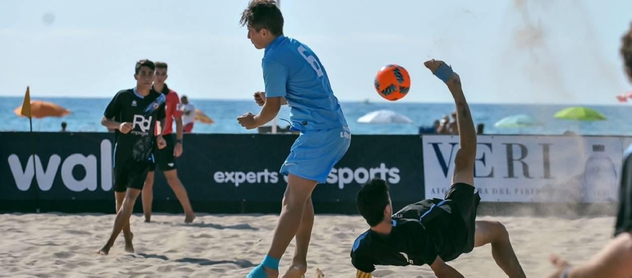 Resultats de la categoria Juvenil del Campionat de Catalunya de Futbol Platja