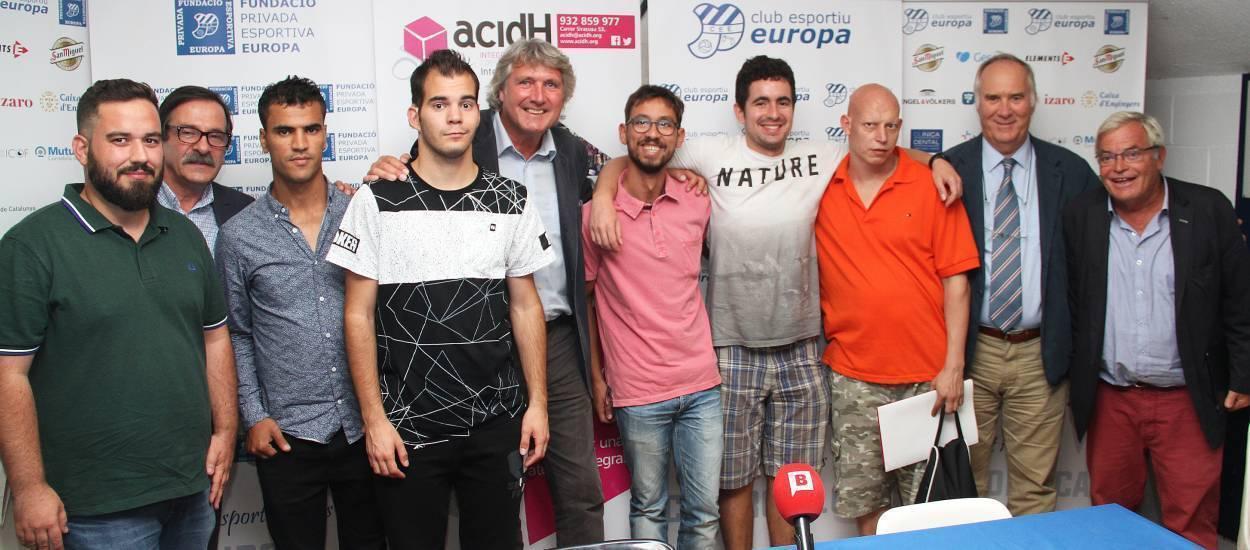 Presentat el torneig de futbol inclusiu 'Sense Límits'