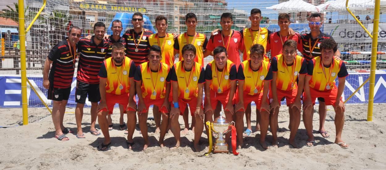 Catalunya, subcampiona d'Espanya de futbol platja