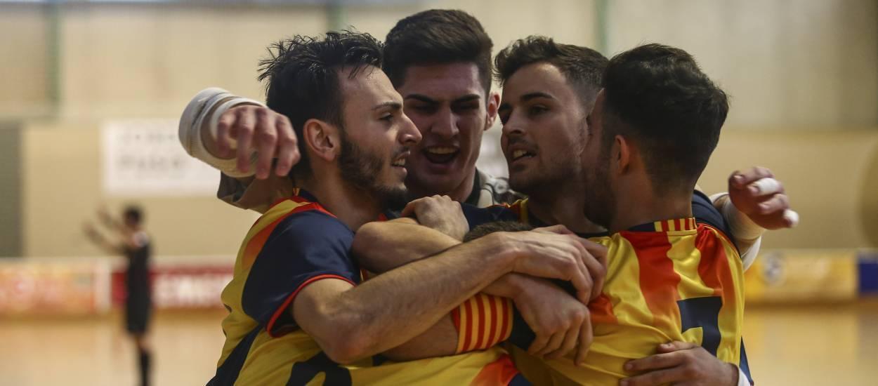 Cinc jugadors d'equips catalans convocats amb la selecció sub 19 masculina de futbol sala