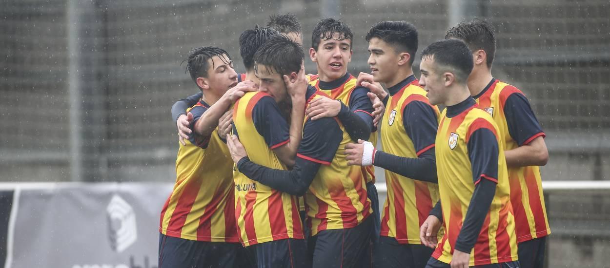 Cinco catalanes convocados con la Selección sub 16 española