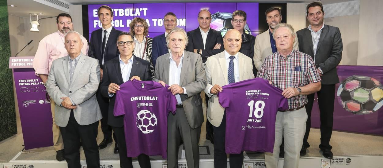 Presentada la jornada 'Enfutbola't. Futbol per a tothom'