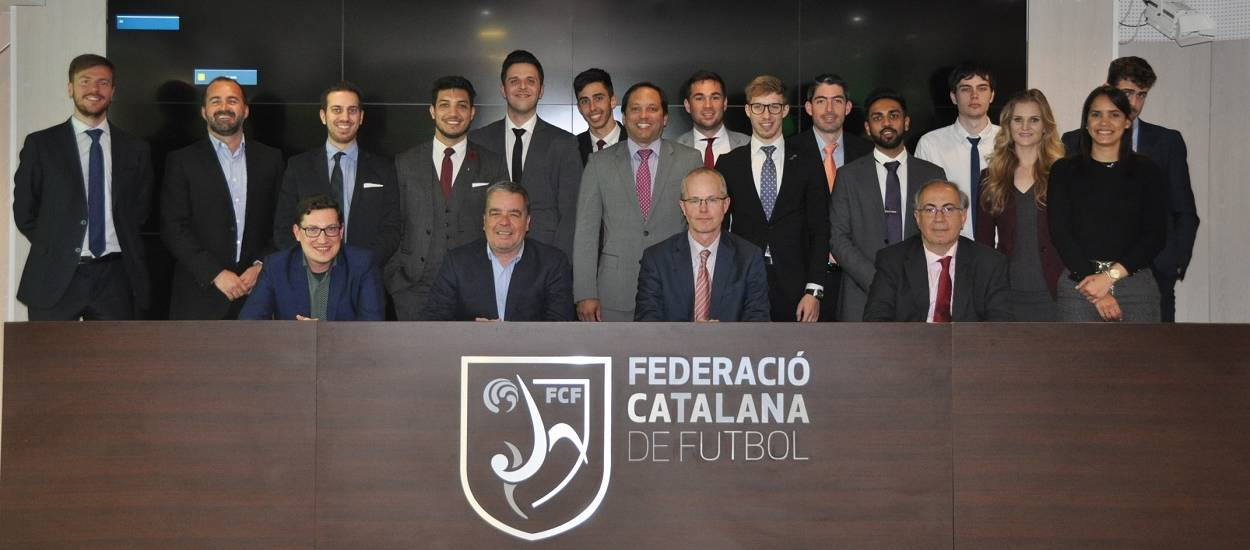 La FCF acull una classe magistral sobre disciplina esportiva