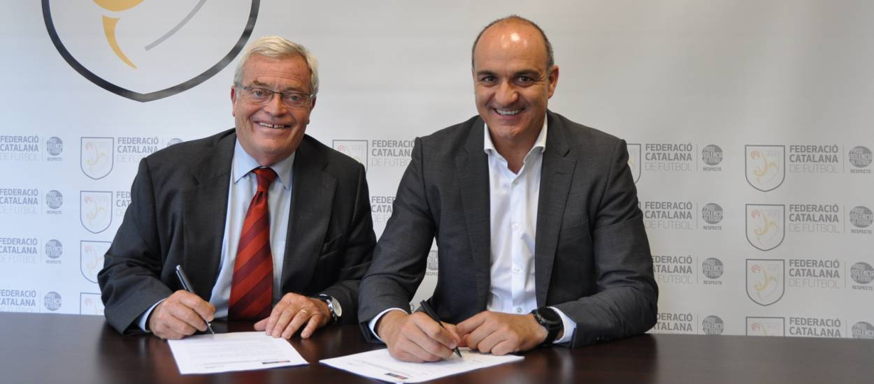 La FCF i la Fundació, juntes per seguir promovent la branca social del futbol