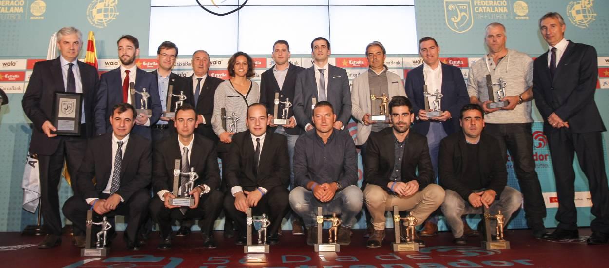 Homenaje a los mejores técnicos catalanes del 2015-16
