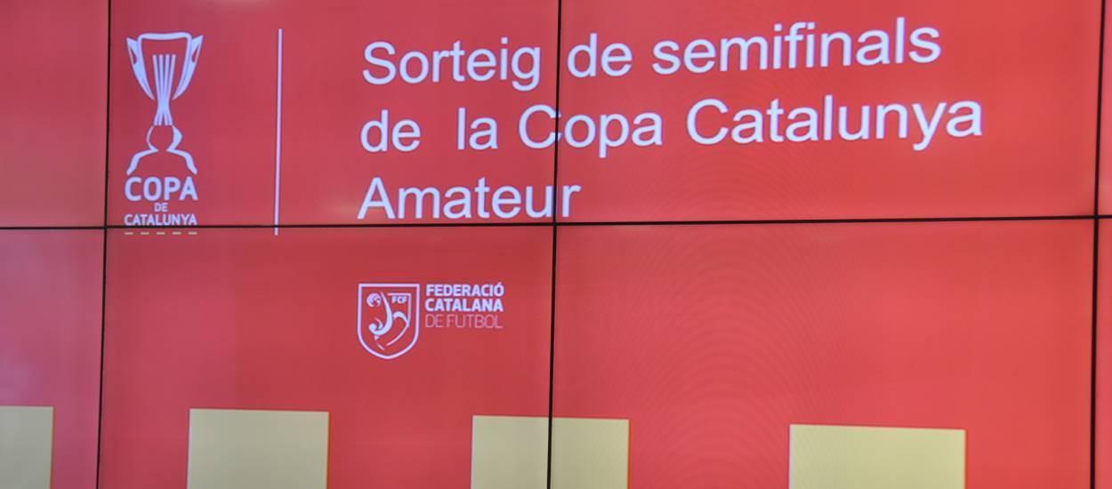 Sortejades les semifinals de la Copa Catalunya Amateur