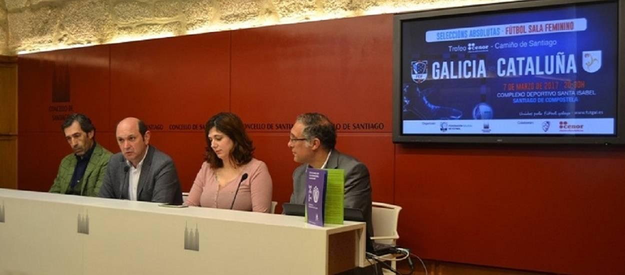 Presentat el Galícia-Catalunya Sènior Femení de Futbol Sala