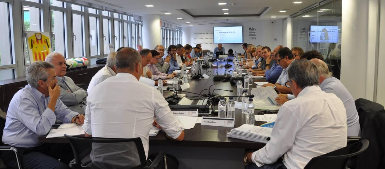 Reunió de Junta Directiva del 4 d'octubre de 2016