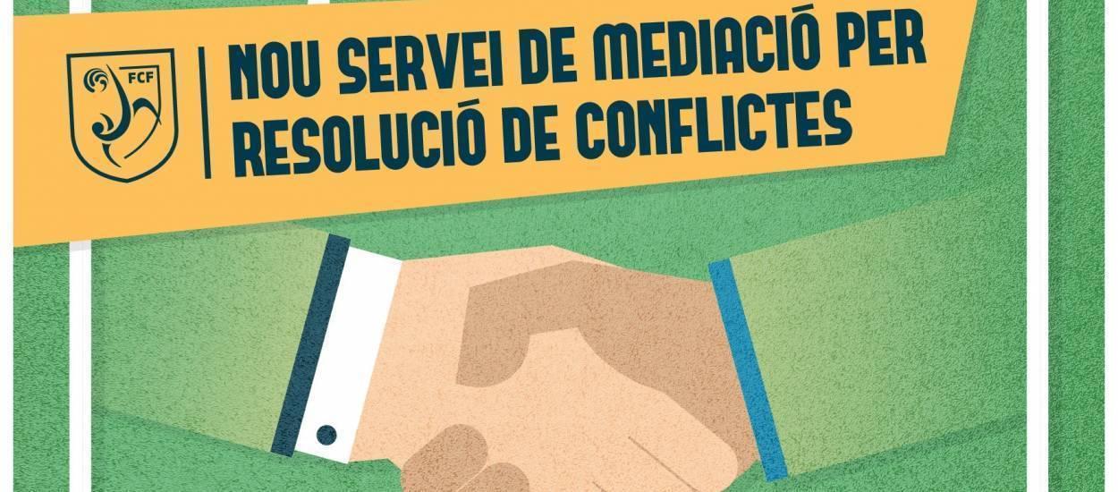 La FCF ofereix un servei de mediació per resoldre conflictes esportius