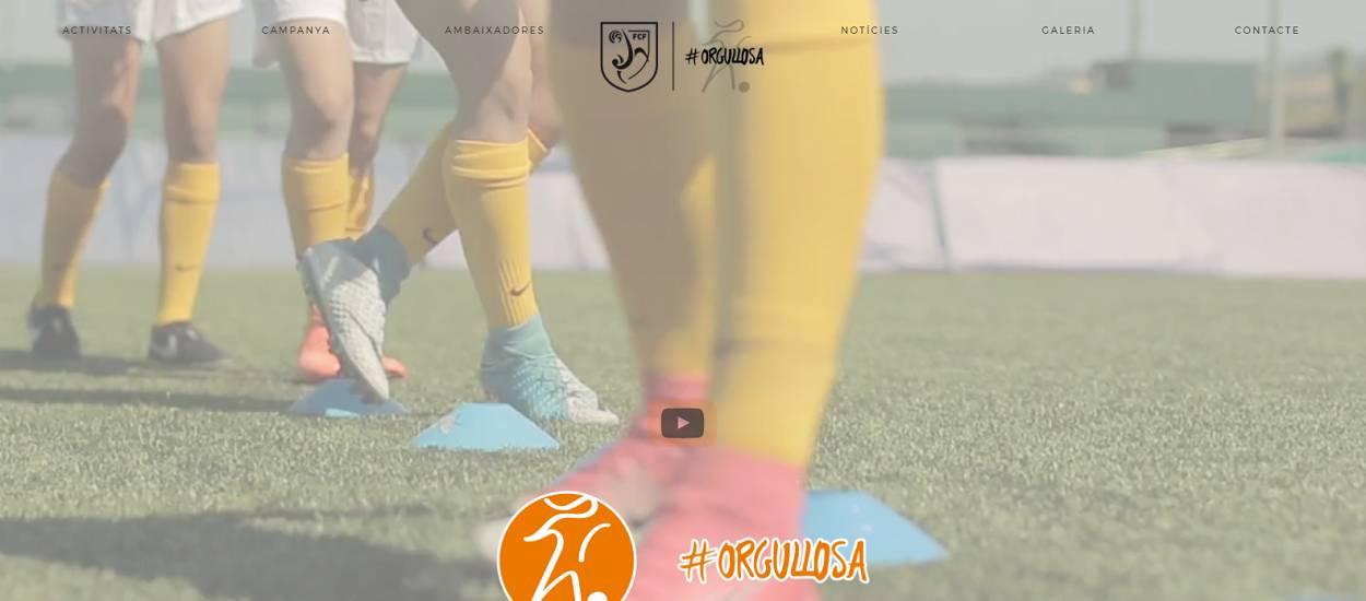 L'FCF crea una nova pàgina web dedicada al futbol femení català