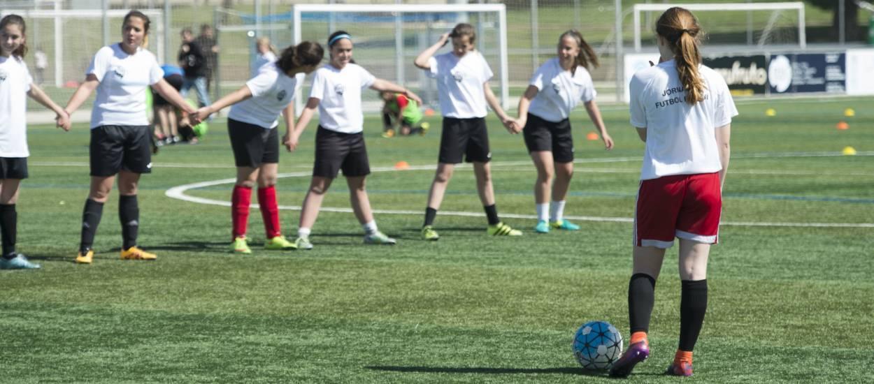 La UFEC es fa ressò de la Jornada de Futbol Femení