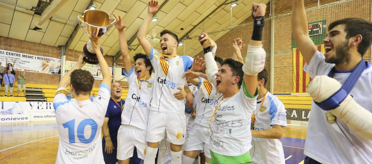 Les primeres finals de la Copa Catalunya de Futbol Sala