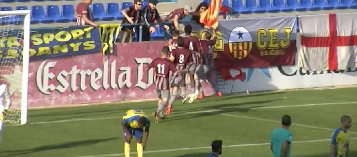 Resum i gols de la jornada 35 de Tercera Divisió (grup 5)