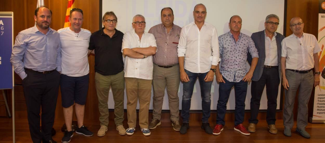 Celebrat el sorteig de la III Copa Lleida 2016-17