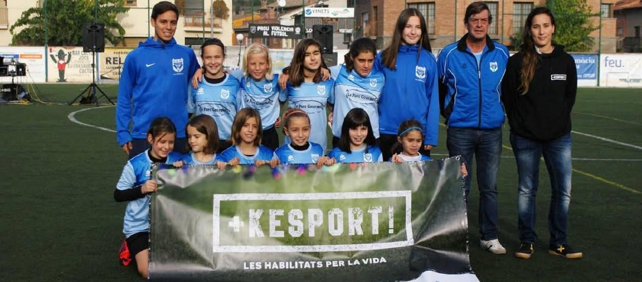 La UE Centelles, un club que entén el futbol com a via d'integració