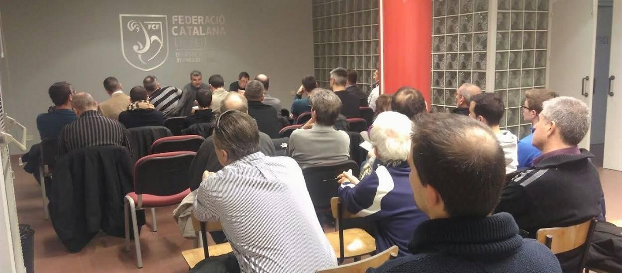 La reunió de la delegació de les Terres de l'Ebre aplega a 20 clubs