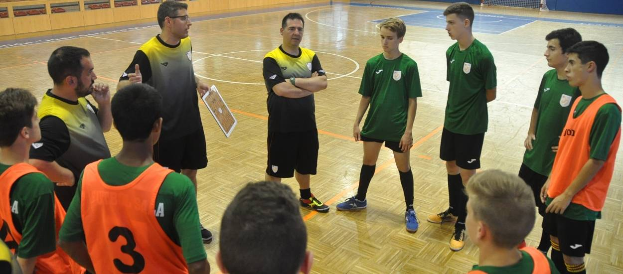 La Selecció Catalana Infantil masculina de futbol sala prepara el seu debut
