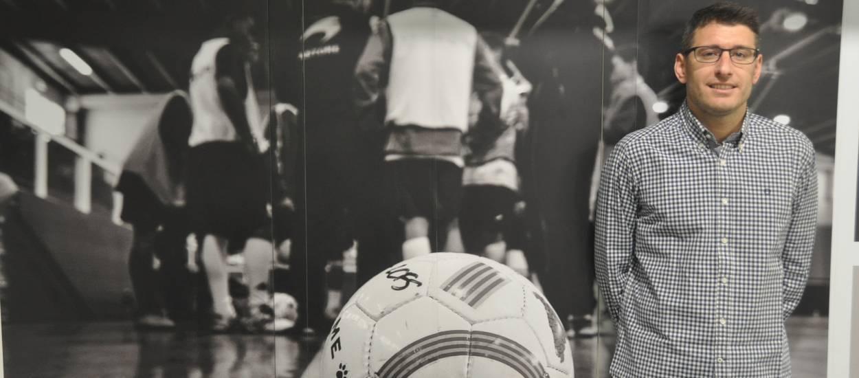 """Miguel Fontecha: """"L'objectiu és competir, que els jugadors lluitin, s'esforcin i se sacrifiquin per l'equip"""""""