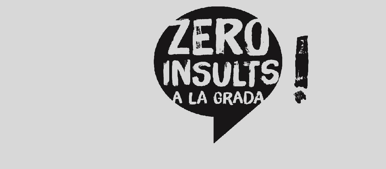La mecànica d'actuació per a l'inici de la campanya 'Zero insults a la grada'