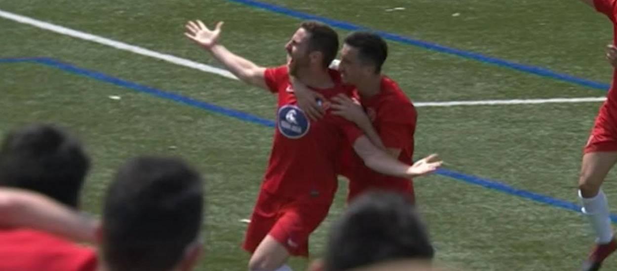 Resum i gols de la jornada 38 de Tercera Divisió (grup 5)