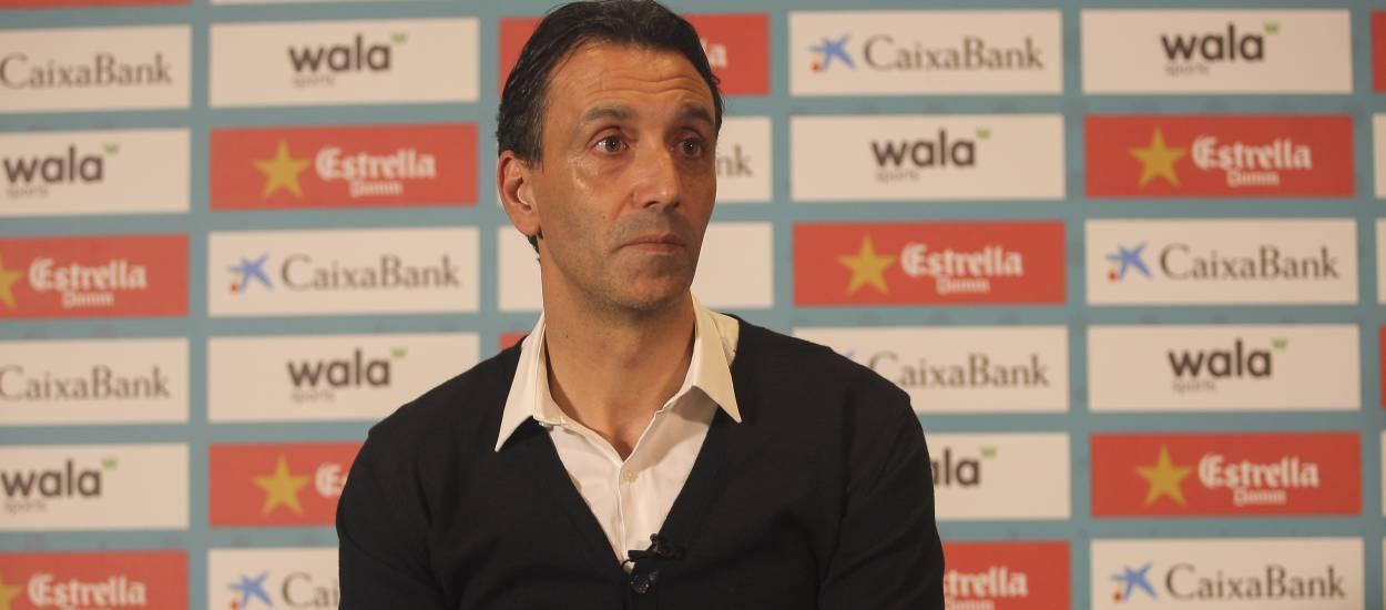"""Pablo Sanz: """"Es vital para el futbol catalán y español que se hagan jornadas del día del entrenador"""""""